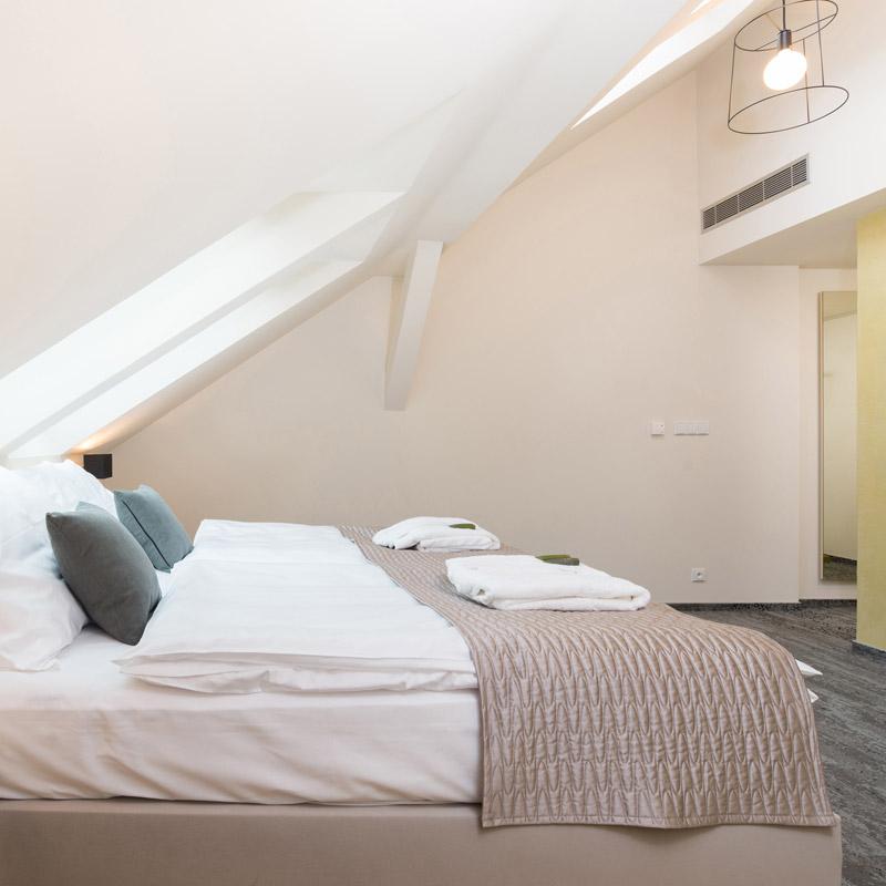 Double room - dvojlůžkový pokoj FAIRHOTEL Brno