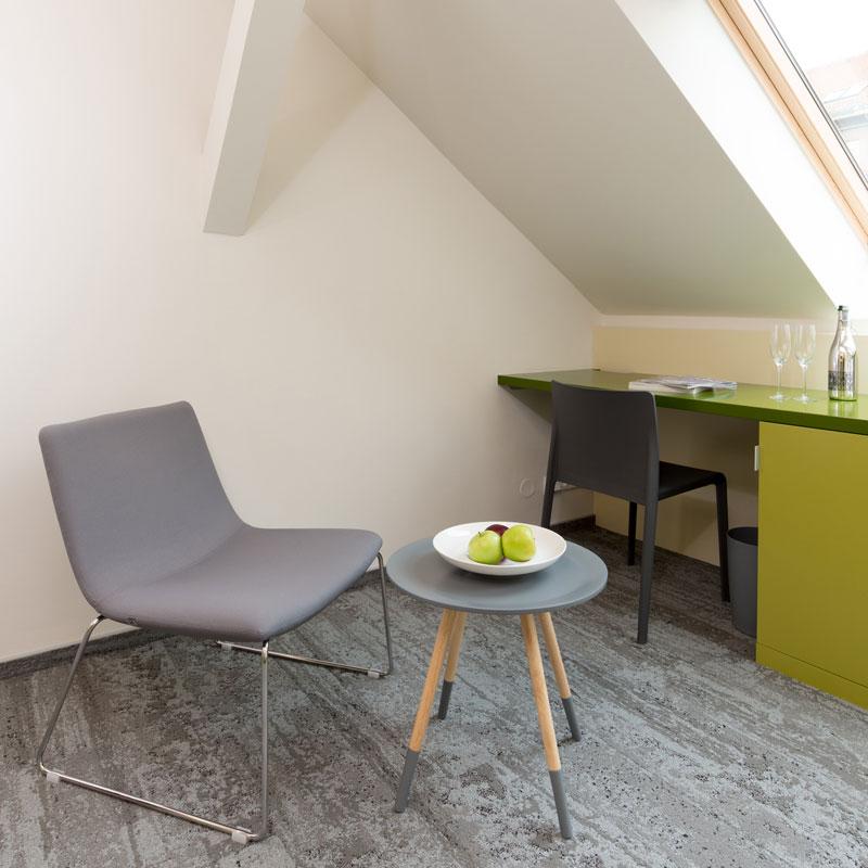 Single room - jednolůžkový pokoj FAIRHOTEL Brno
