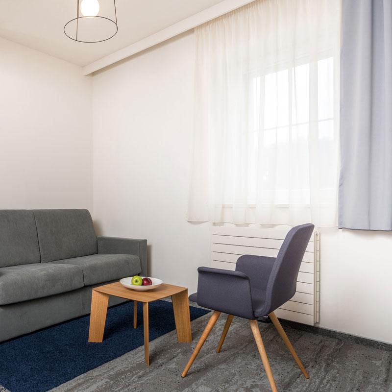 Suite - dvojlůžkový pokoj FAIRHOTEL Brno