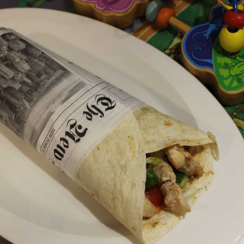 Kids eat free! July & August